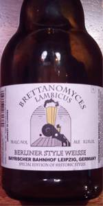 Brettanomyces Lambicus Berliner Style Weisse