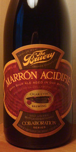 Bruery / Cigar City - Marrón Acidifié