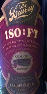 Bruery / Cigar City - ISO:FT