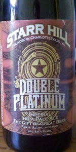 Double Platinum Imperial IPA