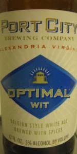 Optimal Wit