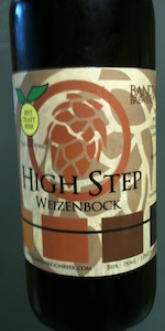 High Step Weizenbock