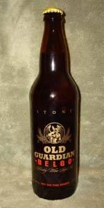 Old Guardian BELGO Barleywine