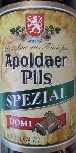 Apoldaer Pils Spezial Domi