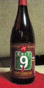 Exit 9 Hoppy Scarlet Ale