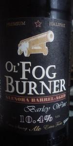 Ol' Fog Burner - Glenora Barrel-Aged