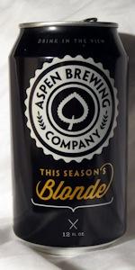 This Season's Blonde