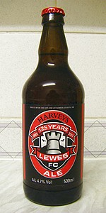 Harveys 125 Years Lewes FC Ale