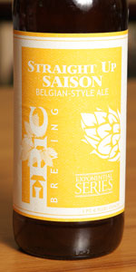 Straight Up Saison