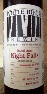 White Birch Barrel Aged Night Falls