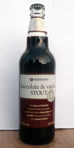 Morrisons Chocolate And Vanilla Stout