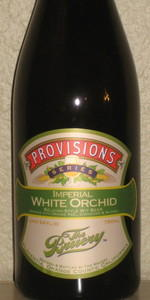 Provisions Series: Imperial White Orchid