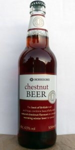 Morrisons Chestnut Beer