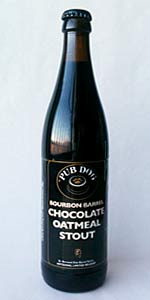 Pub Dog Bourbon Barrel Chocolate Oatmeal Stout