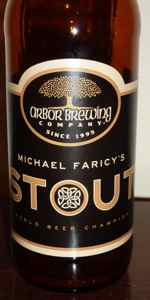 Arbor Brewing Michael Faricy's Stout