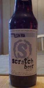 Scratch Beer 42 - 2011 (Razz-ma-dizzle)