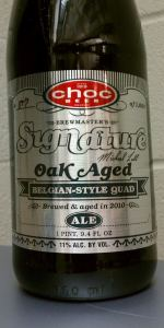 Oak Aged Belgian-Style Quad