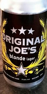 Original Joe's Blonde Lager