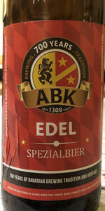 Premium Edel (Spezialbier Edel)