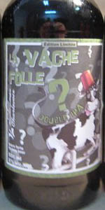 La Vache Folle Double IPA - Mystery Hop