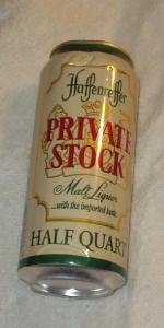 Haffenreffer Private Stock