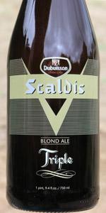 Scaldis Blond Ale Triple