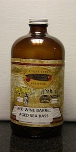 Sea Bass - Red Wine Barrel Aged