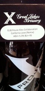 House Ales / Great Lakes California Love