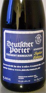 Freigeist Deutscher Porter Saphir Edition