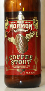 Jack Mormon Coffee Stout