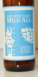 Mid Mountain Mild Ale