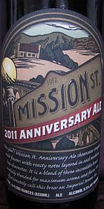 Mission St. Anniversary Ale 2011