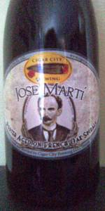 José Martí India Porter - French Oak