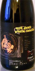 Freigeist Caulfield - Not Just Plain Vanilla
