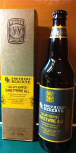 Galaxy Hopped Barleywine Ale (Brothers' Reserve Series)
