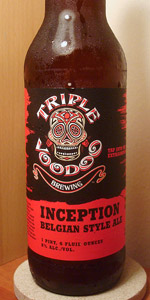 Triple Voodoo Inception Belgian Style Ale