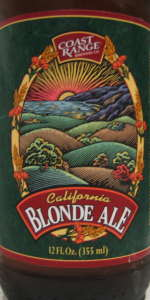 California Blonde Ale