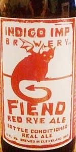 Fiend Red Rye Ale
