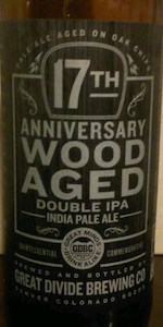 17th Anniversary Wood Aged Double IPA