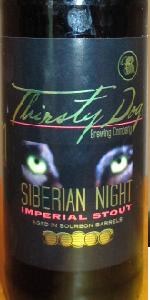 Bourbon Barrel Aged Siberian Night Imperial Stout