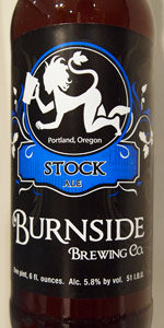 Burnside Stock Ale