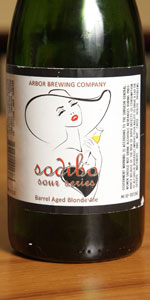 Arbor Brewing Sodibo Barrel Aged Blond Ale (Sour Series)