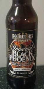 Imperial Black Phoenix (Bourbon Barrel Aged)