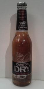Carlton Dry Fusion Black