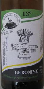 Třebonické Geronimo Polotmavý Rýžový Speciál 13°