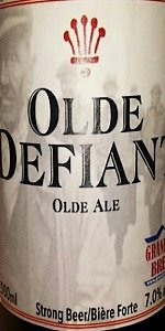 Old Defiant Old Ale
