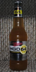 Miller Genuine Draft Light 64 Lemonade