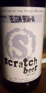 Scratch Beer 44 - 2011 (Team America)