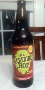 The Incredible Hop Imperial India Red Ale