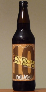 2010 Reserve Old Boardhead Barley Wine Ale